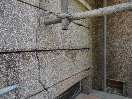 Bed Joint Reinforcement Repairing Lintels