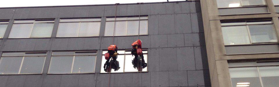 Abseil building Inspection
