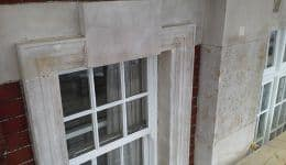 Stone cleaned using Doff system