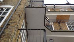 Balcony Repair at Old Fire Station Hammersmith 3