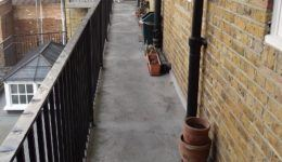 Walkway Repair at Old Fire Station Hammersmith