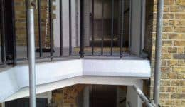 Repair of concrete balcony