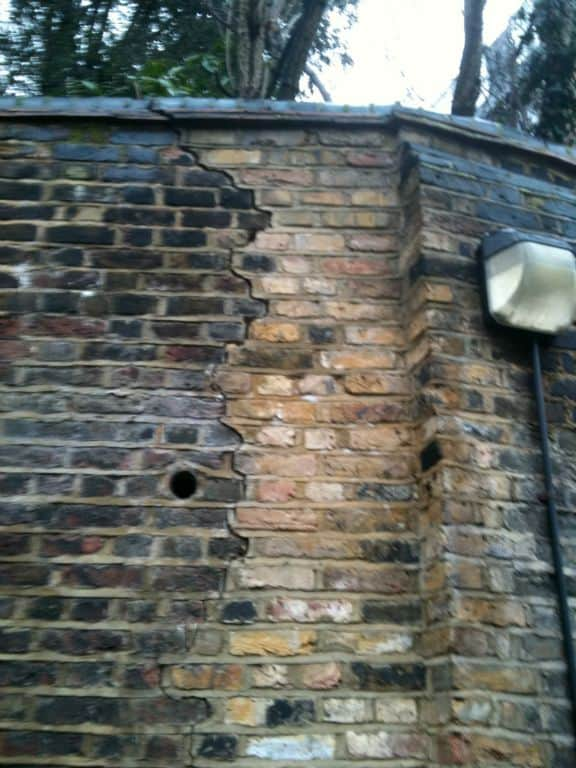 Retaining Wall Restraint North London Newman Building