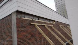partial collapse of masonry