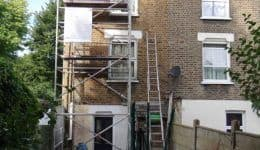 during-lintel-repairs-south-east-london
