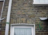 Brick Arch Lintel Repair East London