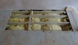Lateral restraint ties through floor timbers