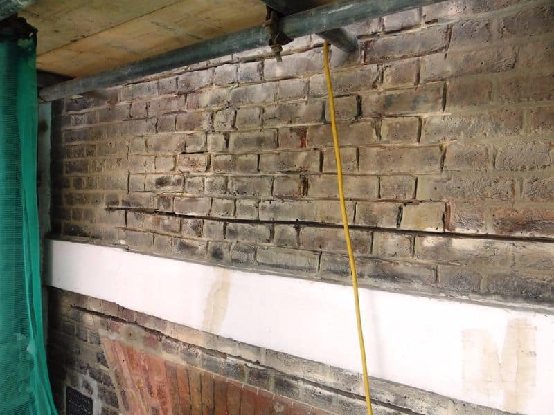 Lintel Failure Reinforced London Newman Building Solutions