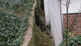 Bowing Retaining Wall