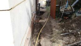 trench-dug-for-shire-pile-installation
