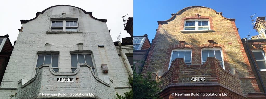 Facade Restoration Before and After