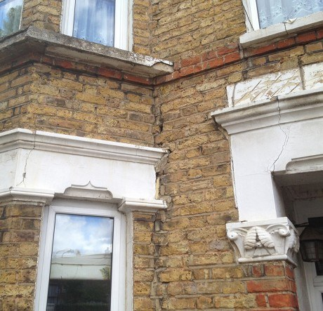 Cracks in Bay Window
