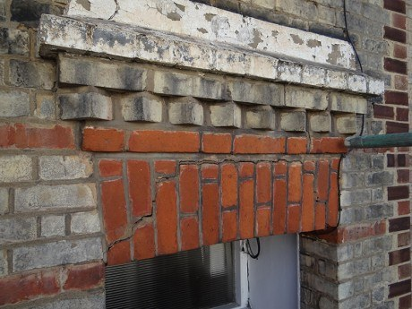 Cracks in Lintel