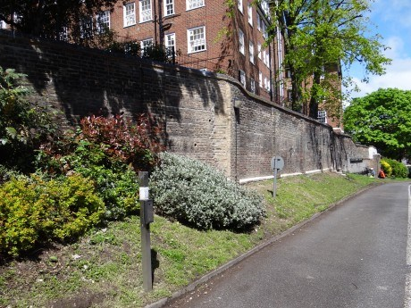 Victorian Retaining Wall